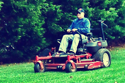 commerical lawn cutting services